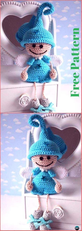 crochet angel  patterns tutorials