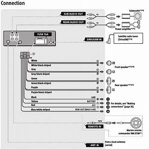 Wiring Diagram For Sony Xplod
