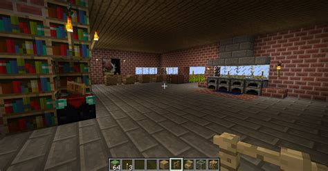 beautifull brick house  minecraft world  minecraft project