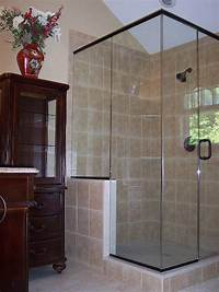 interesting walk in corner shower Interesting Walk In Corner Shower - Home Design #1006