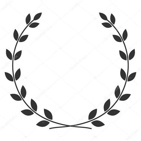 Symbole De Couronne De Laurier €� Photographie Alonas