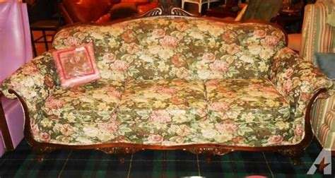 floral sofas for sale antique upholstered floral sofa couch for sale in