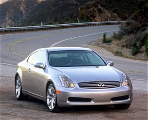 infiniti  sport coupe specifications stats