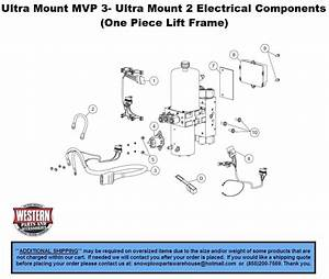 Mvp 3 - Ultra Mount 2 Diagrams - V-plow Diagrams - Ultramount Snowplow Diagrams