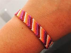 bracelet brésilien simple 5 couleurs les confections de