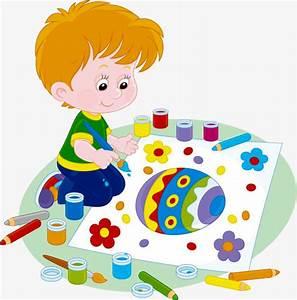 Kid Painter, Children Painting, Painting, Child Painting ...