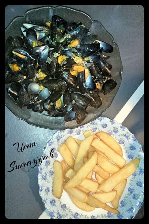 moules marinieres sans alcool la cuisine  umm sumayyah