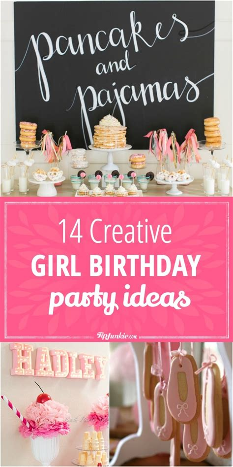26 birthday cake party ideas tip junkie 14 creative girl birthday party ideas tip junkie