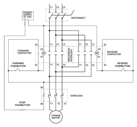 phase motor control circuit diagram zen diagram wiring