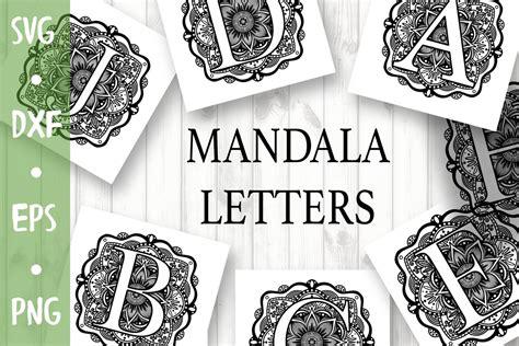 Free layered alphabet mandala svg pictures 5. Alphabet Mandala Svg Free Design - Free Layered SVG Files