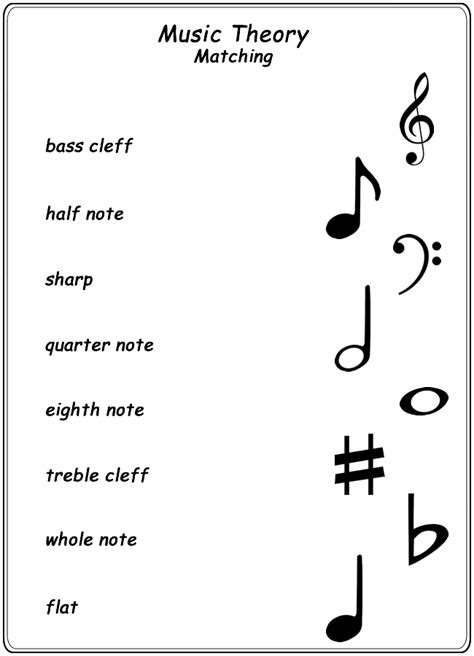 Worksheets  Online S, Music Theory And Worksheets