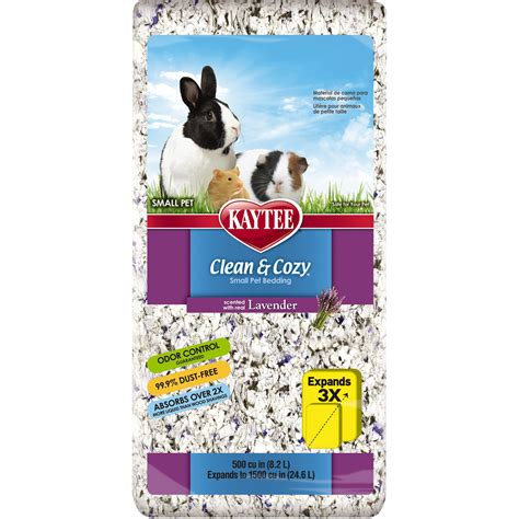 kaytee clean and cozy bedding kaytee clean cozy lavender scented small animal bedding