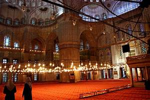 Interior Of Blue Mosque | World for Travel