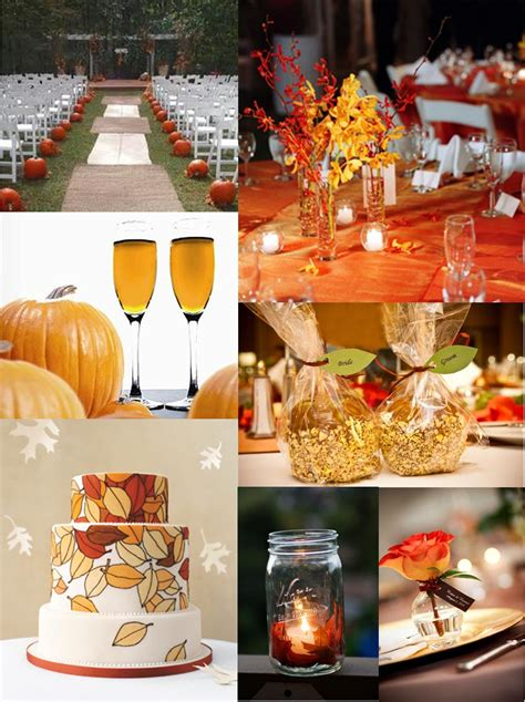 details fall wedding ideas