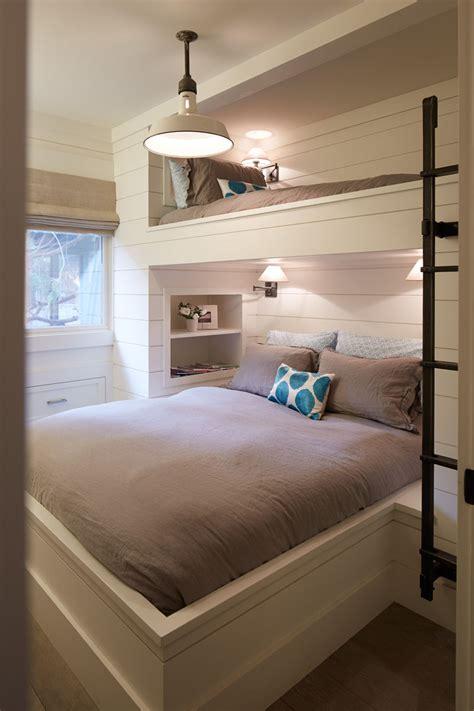 bunk beds with mattress 12 inspirational exles of built in bunk beds contemporist