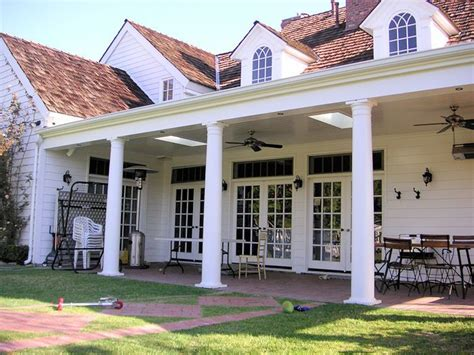 Beautifully Covered Back Brick Patio On This Plantation