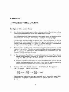 Zumdahl Chemprin 6e Csm Ch02