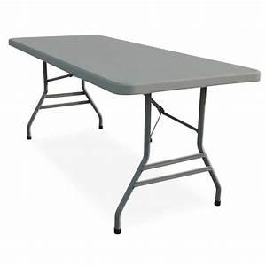 Table Pliante Bricorama : interesting table pliante duralight cm with table et banc ~ Melissatoandfro.com Idées de Décoration