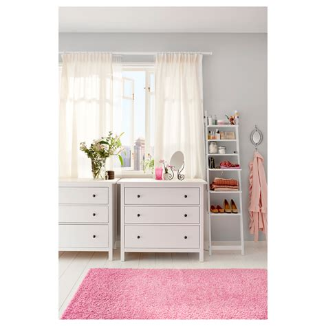 Ikea Hemnes Dresser 3 Drawer White by Hemnes Chest Of 3 Drawers White Stain 108x96 Cm Ikea