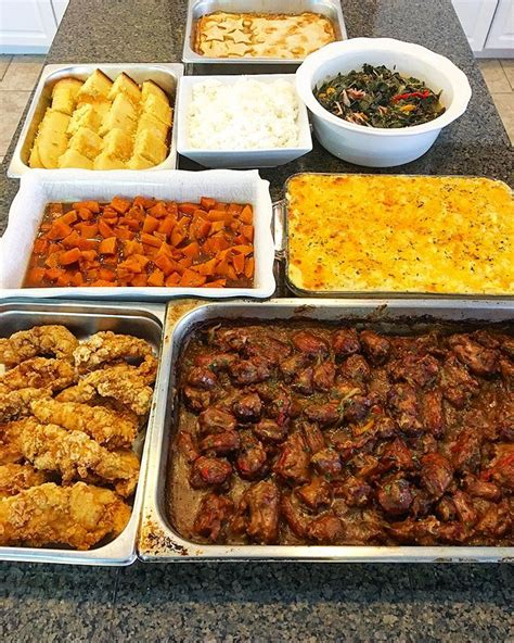 Simple & delicious traditional southern soul food recipes. Sunday dinner, soul food Sunday, smothered turkey necks ...