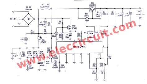 Component Variable Power Supply Circuit
