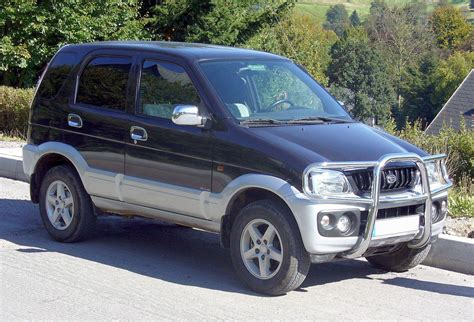 daihatsu terios 4x4 daihatsu terios 2007 car modification 2011