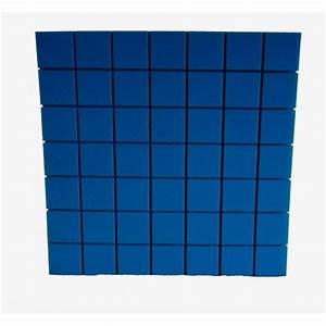 Akustická pěna modrá
