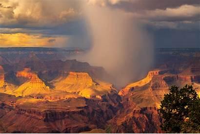 Canyon Grand Arizona Storm Rain Screen Energy