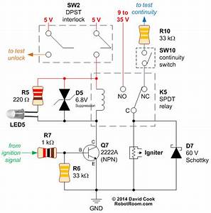 Relay-controlled Igniter