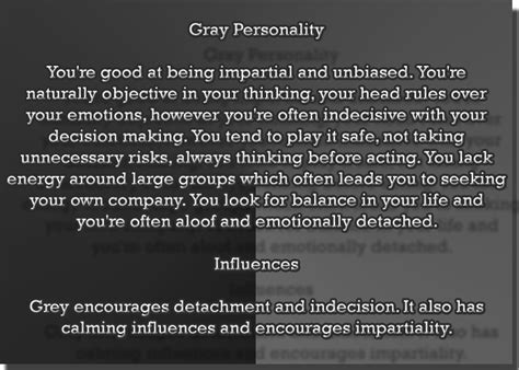the color grey meaning color gray color psychology personality meaning