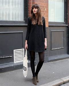 tights with ankle boots pictures to pin on pinterest With chaussure plate avec robe