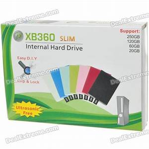 Plastic Internal Hard Drive Disk Case For Xbox 360