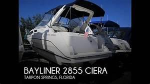 Sold  Used 1998 Bayliner 2855 Ciera In Tarpon Springs  Florida