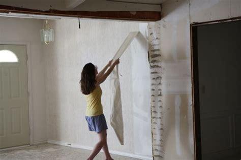 remove wallpaper  unprimed drywall