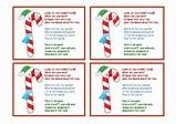 Candy Cane Poem by CKim Creations | Teachers Pay Teachers