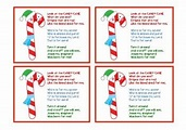 Poem Of A Candy Cane : You've earned your stripes this ...
