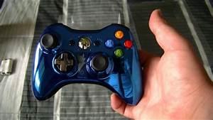 Xbox 360 Controller Blue Chrome | www.pixshark.com ...