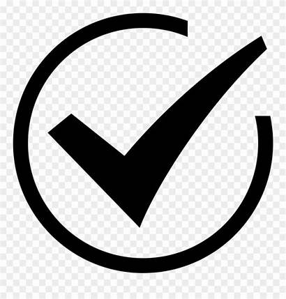 Icon Complete Clipart Mark Task Check Completion