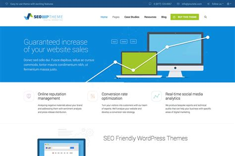 Best Seo Websites - 30 best seo friendly themes 2019 colorlib