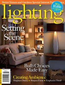 lighting and decor magazine free better homes gardens lighting magazine