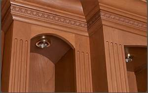 Solid Wood Fluted Molding Trim WalzCraft