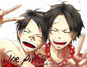 Luffy Ace One Piece HD Wallpaper | Animation Wallpapers