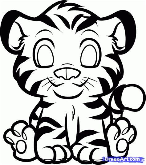 draw  anime tiger step  step anime animals