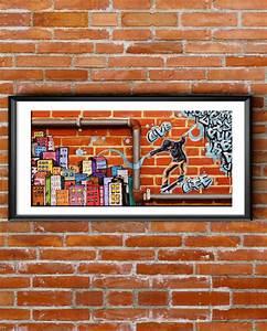 Toile Street Art : toile street art d co chambre d 39 ado ~ Teatrodelosmanantiales.com Idées de Décoration