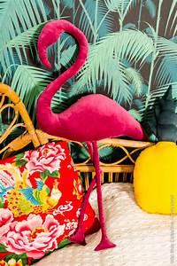 Coussin Flamant Rose : decoration ananas flamant rose ~ Teatrodelosmanantiales.com Idées de Décoration