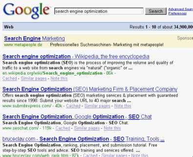 Optimize Search Results - the us search engine optimization market
