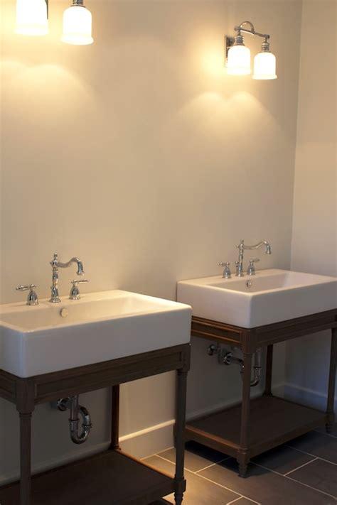 Restoration Hardware Bathroom Vanity Single Sink by Restoration Hardware Weathered Oak Single Console Sink