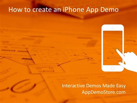 how to develop an app for iphone how to create an iphone app demo