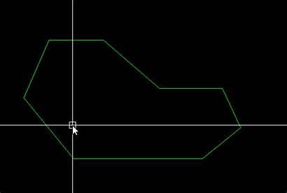 Divide Autocad Area Polygon Equal Areas Shape