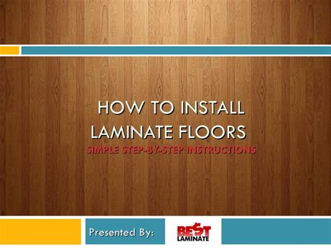 how to install laminate hardwood floors how to install laminate flooring fearlessly
